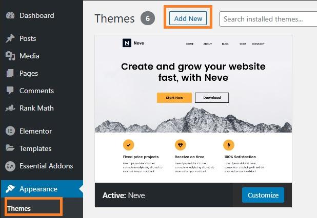 5 เทคนิคเลือกธีมฟรี WordPress