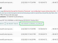 การ Monitor WordFence Live Traffic